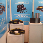 Exhibition of timing belts